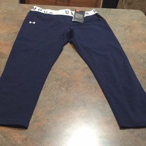Under armour women's small fitted Capri pants